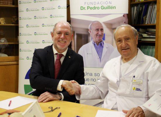 Fundación Dr. Pedro Guillén y Fundación MAPFRE firman un proyecto conjunto de investigación