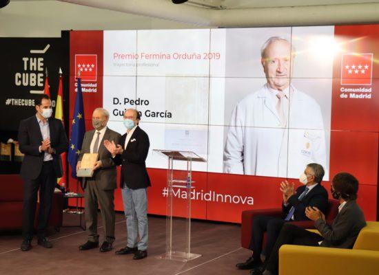El Dr. Pedro Guillén recibe el Premio «Fermina Orduña» 2019 a la trayectoria profesional